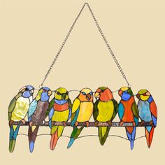 Image result for birds stained glass patterns