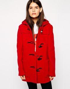 bossini Online Shop - Shop Ladies - Outerwears - Plaid Duffle Coat ...