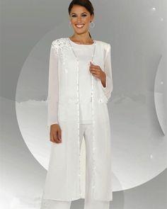 50c0656e26c Online Shop Customize mother of the bride dresses chiffon pants suit  wedding Mother of the Bride