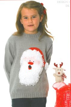 Wendy Santa Christmas jumper