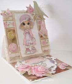 Scrapbook Stamp Society: Girl With A Hat!
