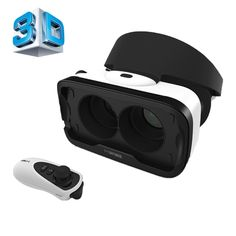 [USD32.07] [EUR28.97] [GBP22.74] Baofeng Mojing IV Universal Virtual Reality 3D Video Glasses with Bluetooth Remote Controller for 4.7 to 5.5 inch iOS Smartphones (iOS version)