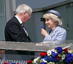 Prince Richard, Duke of Gloucester and Birgitte, Duchess of Gloucester watch the racing from the balcony of the Royal Box on Derby Day at the Investec Derby Festival horse racing meeting at Epsom. Uk Prince, Prince Henry, Queen Mary, Queen Elizabeth Ii, Royal Uk, British Royal Families, Duke Of York, Her Majesty The Queen, Derby Day