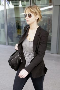 Sally: i'm obsessed w/ blazers, but it's really hard to find blazers w/ the right fit that don't make you look too boxy.