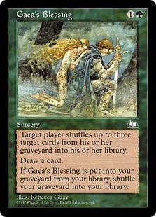 Gaea's Blessing (Weatherlight)
