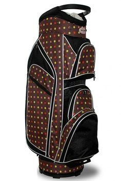 Keep your clubs organized with Cocoa Eye Candy Taboo Fashions Ladies Monaco Premium Lightweight Golf Cart Bag. Shop this at #lorisgolfshoppe today!
