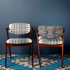 Brocade & Ikat Kai Kristiansen Chairs - Furniture