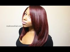 Silk Roller Wrap Straightening Tutorial | Seriously Natural | Natural Hair, Beauty & Lifestyle Blog
