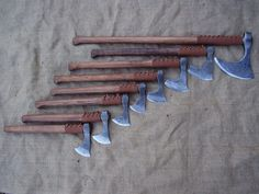 Peter Szabo viking axes
