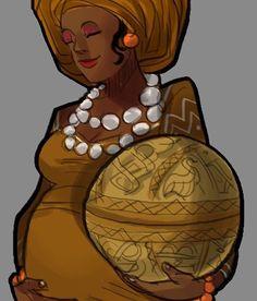 Vudu Tarot Project — #odu #ifa #signo #sign #eshu #oxum #oshun #osun...