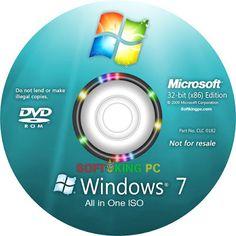 Windows 7 Aio Multilanguage May 2017 Full Activated Windows Software, Microsoft Windows, Microsoft Software, Microsoft Office, Computer Repair, Computer Programming, Computer Driver, Laptop Repair, Windows 7 Os