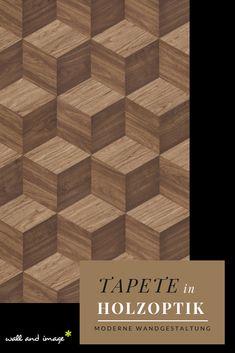 NEWROOM Holztapete Papiertapete Grün Holz Pflanzen Natur Beige,Hellbraun  3D