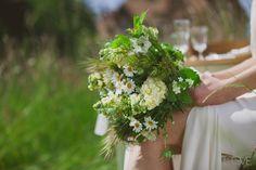 Les Herbes Hautes fleuriste Bouquet de mariée champêtre