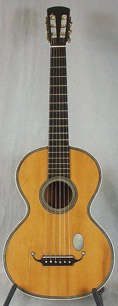Early Musical Instruments, antique Romantic Guitar, Lacote School around 1840