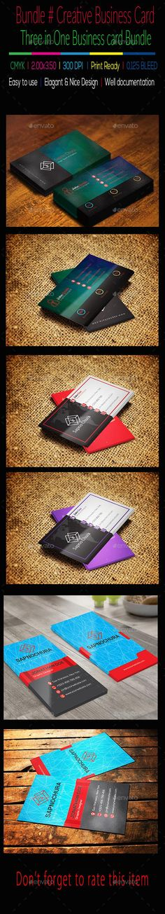 Bundle # Creative  Business Card
