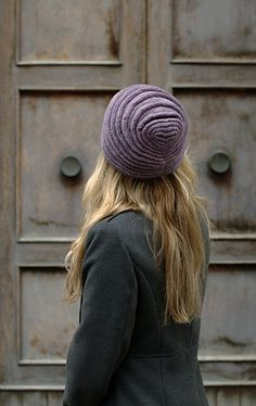 Tucked is a unique Hat that will take you on a journey through tucks and short rows.