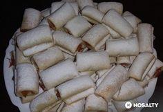Egyszerű töltött vajas süti