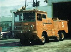 A 010 crash-fire truck at Chanute AFB