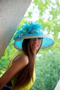 Tiffany Blue Sun Hat  Savannah Tiffany Blue and by EyeHeartMe, $112.00
