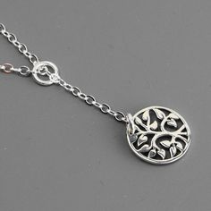 Sterling Silver Tree of Life Necklace  Mom by MyDistinctDesigns, $34.00