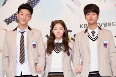 """Have you heard of upcoming drama """"Sassy Go Go"""" yet? Well, it's highly likely to be a hit with its stellar cast and heartwarming storyline. Sassy Go Go, Age Of Youth, Kathryn Bernardo, Live Action Movie, Ji Soo, Cheer Up, Vixx, Girls Generation, Korean Actors"""