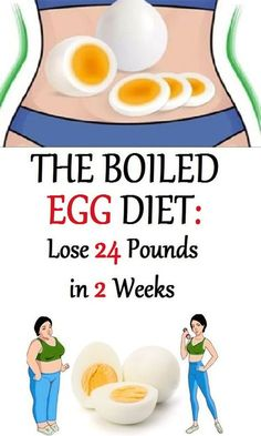 Lose 24 Pounds in Just 2 Weeks with the Boiled Egg Diet