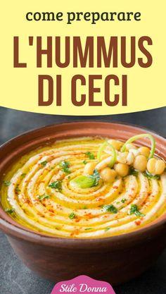 How to prepare chickpea hummus- - Side Dish Recipes, Veggie Recipes, Vegetarian Recipes, Cooking Recipes, Healthy Recipes, Tapenade, Vegan Appetizers, Best Dinner Recipes, Pesto