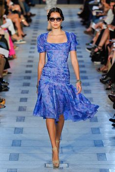 Love this flirty frock from Zac Posen Spring 2012