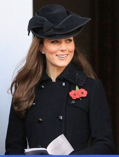 Kate Middleton...the only person that can pull off a hat.