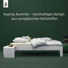 Der Designklassiker Von Auping Das Auronde In Weiss Nachhaltiges Design Aus Europaischen Rohstoffen Bett Schlafen Nachhaltigkeit Comfort Bed