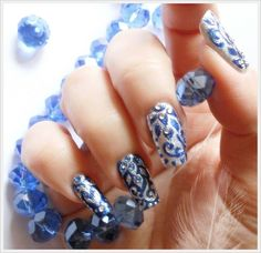 "Nail Art ""Arabesque"""
