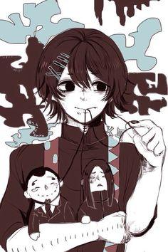 Black hair - Suzuya
