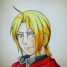 Edward Elric Ahh, ich liebe FMA Brotherhood *-* Er sieht ein kleines bisschen zu erwachsen aus, aber die Farben sind find ich gut geworden^-^