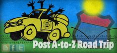 Blogging from A to Z April Challenge: Time for the 2016 A to Z Post Challenge Road Trip