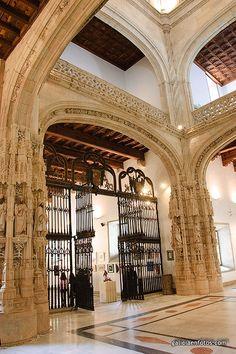 Parador - Santiago Stairs, Places, Travel Photography, Hotels, Santiago, Tourism, Scenery, Architecture, Fotografia