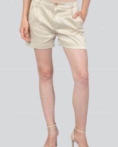 MELINA-3 Bermuda Shorts, Casual Shorts, Women, Fashion, Moda, Fashion Styles, Fashion Illustrations, Shorts, Woman