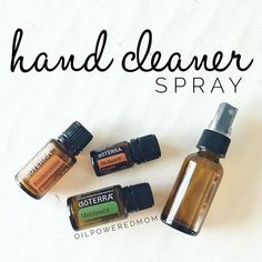 Totally loving this hand cleaner spray! Smells amazing, supports the emotions, and has some kick-butt cleaning power for when we are out and about. A quick spray on all of our hands and we are good to go. The germ freak inside me can relax. Ha! Spraying cart handles wouldn't be a bad idea either  10 drops each Frankincense, Melaleuca, and OnGuard in a 2 oz spray bottle, top with water. Shake before each use. Recipe cred: @theoilrn