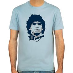 T-Shirt Diego Maradona ::: Colour: skyblue, sand or white ::: Sizes: S-XXL (football) SpielRaum http://www.amazon.co.uk/dp/B000YPPDZ8/ref=cm_sw_r_pi_dp_LGvcvb0TXQ8M1