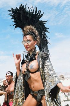 The fascinating females you'll find at Burning Man (44 Photos)