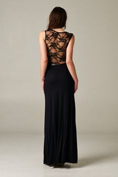 Brenna Dress with Lace Back   Awesome Selection of Chic Fashion Jewelry   Emma Stine Limited