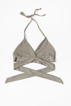 Wrap Around Halter Bikini Top