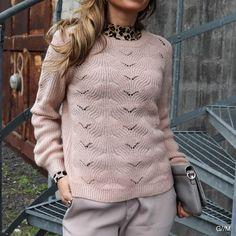 Powder Carol Knit Blouse Gray Matters, Powder, Turtle Neck, Pullover, Knitting, Grey, Sweaters, Fashion, Black People