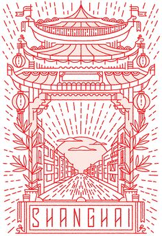 UNIQLO t-shirt illustration by MUTI