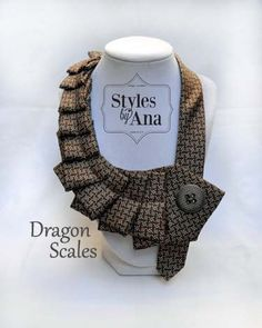 Necktie Necklace Unique Finds Statement Necklace by stylesbyana