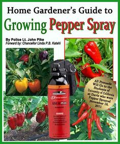 Growing Pepper Spray (Funny)