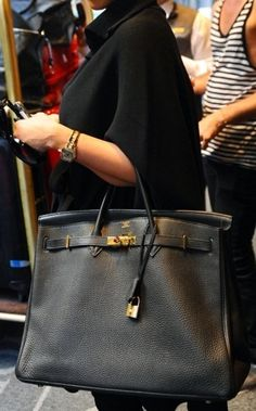 The Birkin Bag, Lovely, but honesty,  don't understand why people would pay thousands for it.