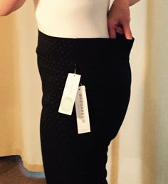 Emer pant from Stitch Fix. Large gap in back of waistline, pant will slide down. Bummer!