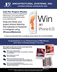 ASI's Call for Project Photos! Enter to win a new iPhone Corporate Interiors, Hospitality Design, New Iphone, Inspired, Architecture, Projects, Photos, Inspiration, Arquitetura