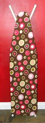 DIY ironing board cover. Love this tutorial! I never like the covers they sell at the store. But now I can make one I do like!