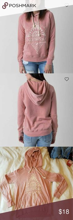 Billabong Zodiac Hoodie GUC. Super soft material, and lightweight enough you could wear to the beach. Some fading and pulling due to softness of fabric. Still retails at Buckle for $44.95. Offers welcome. Billabong Tops Sweatshirts & Hoodies